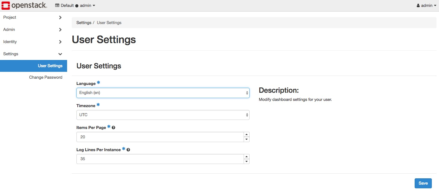 Openstack Docs Log In To The Dashboard