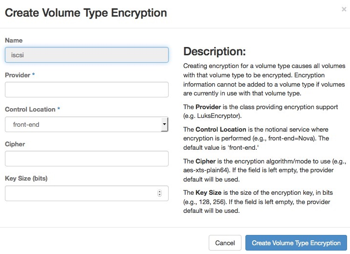 OpenStack Docs: Manage volumes and volume types
