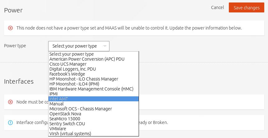OpenStack Docs: Install MAAS